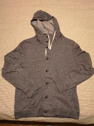 Jersey gris H&M con capucha