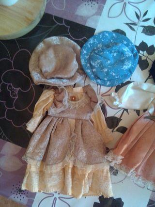 muñeca porcelana vintag