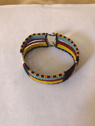 Pulsera típica masai