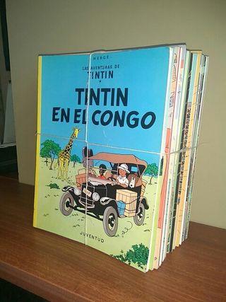 Colección completa de Tintín
