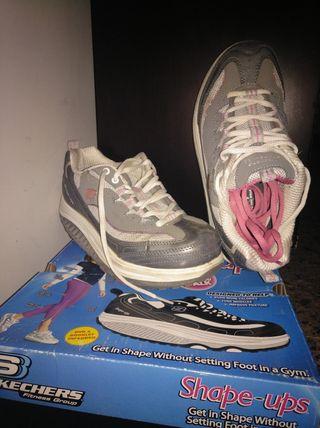 zapatillas Skechers shape-ups talla 37