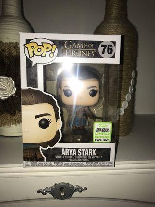 Pop Arya Stark Exclusivo - Juego de Tronos-