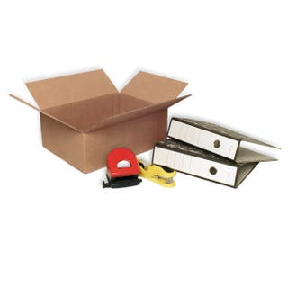 10 Cajas de cartón 400x300x150mm