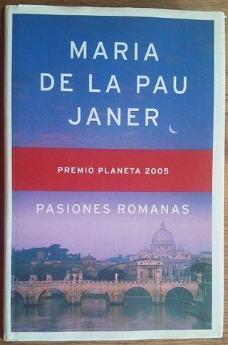 Pasiones romanas Maria de la Pau Janer