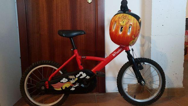 bicicleta niño como nueva