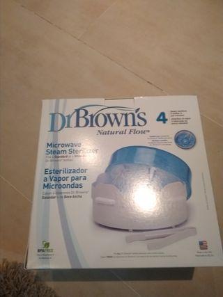esterilizador biberones Dr Brown