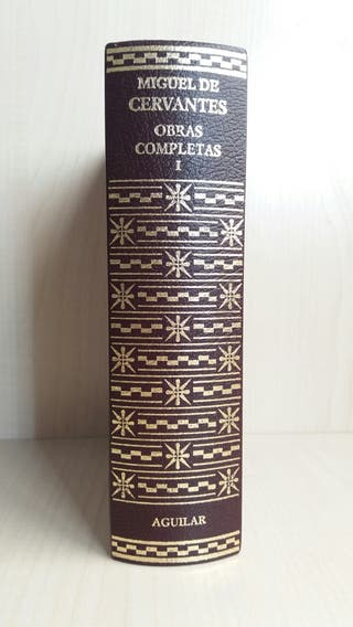 Libro Obras completas Miguel de Cervantes I.