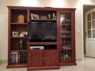 Muebles de salón de madera por 400€