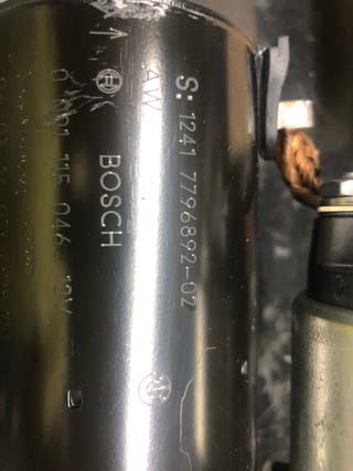 Motor arranque Bmw serie 120d e 87