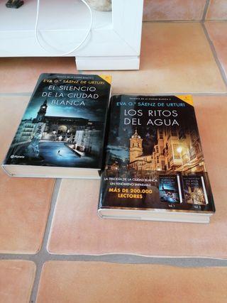 libros trilogía de la ciudad blanca