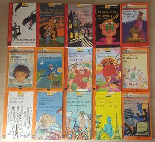 Lote libros infantiles/juveniles El Barco de Vapor