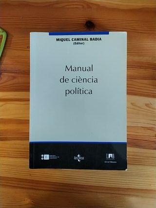 MANUAL DE CIÈNCIA POLÍTICA CATALA