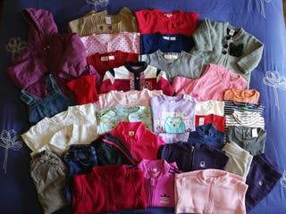 Lote de ropa de niña de 9 a 24 meses