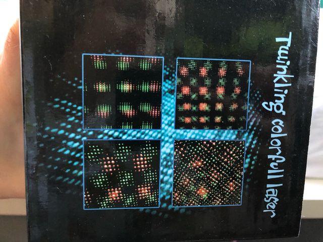 Proyector láser fiestas