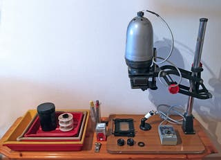 Laboratorio fotográfico B/N