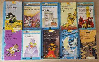 Lote 10 libros para niños El Barco de Vapor