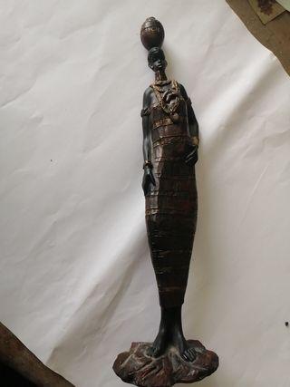Figura Masai, 30cms altura
