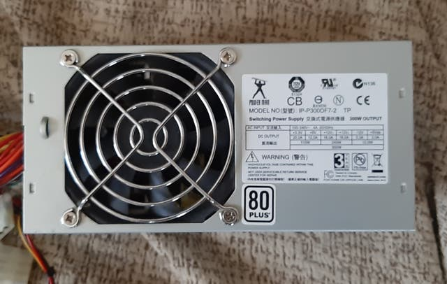 fuente tipo tfx para htpc 300 watios 80 plus