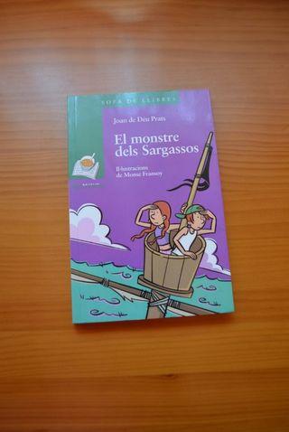 Libro El monstre dels Sargassos
