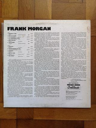 Vinilo jazz blues Frank Morgan