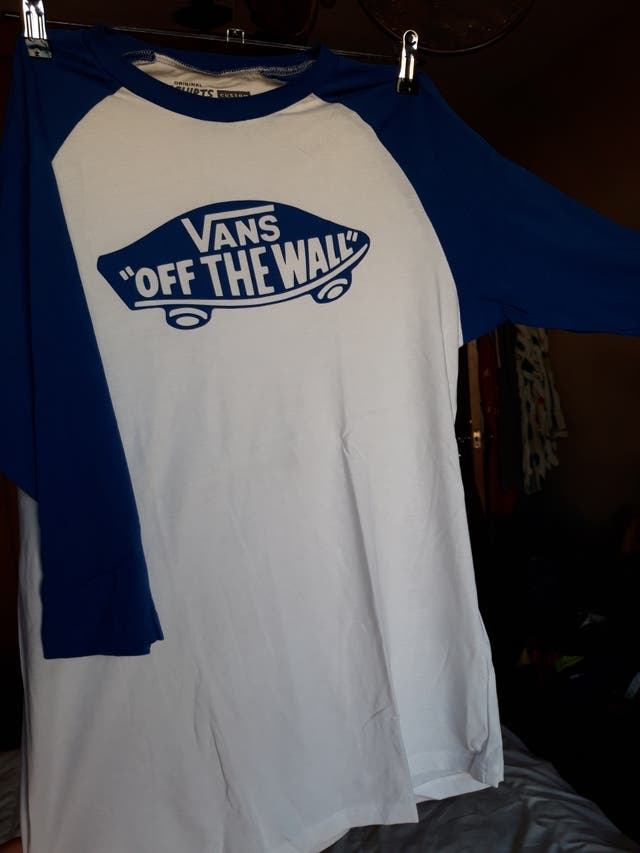 camiseta media manga hombre