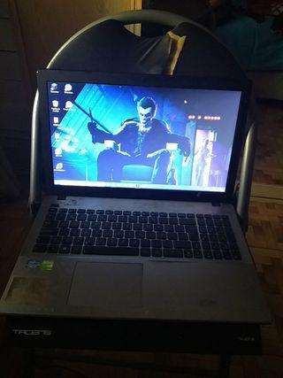 Notebook Asus F550c core i7 + Nvidia GeForce