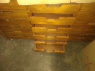 cajonera rústica madera maciza