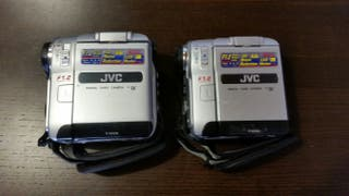 Pack 2 VideoCamaras de cinta DV. JVC GR-DX27E