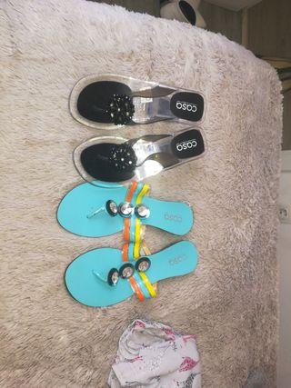 zapatos playa talla 40