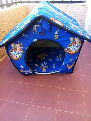 caseta para perros pequeños