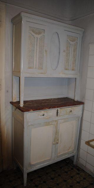 Antigua alacena cocina.