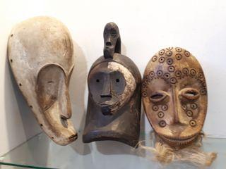 Lote máscaras africanas