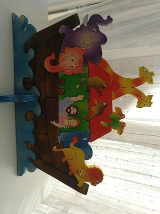 puzzle madera arca de Noé