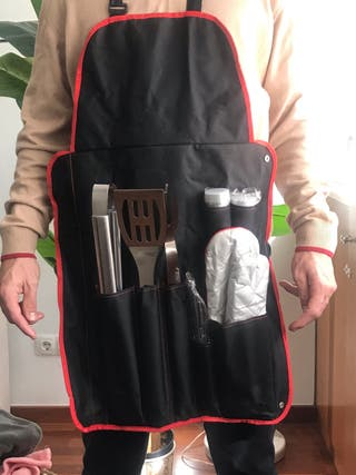 Kit de barbacoa sin estrenar