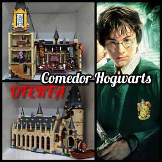 Castillo Hogwarts Harry Potter lego comedor