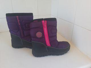 botas niñas nieve