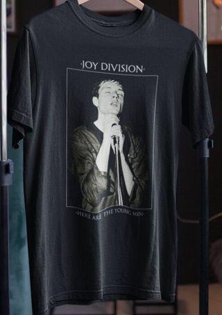 Camiseta Hombre Joy Division Young Men NUEVA