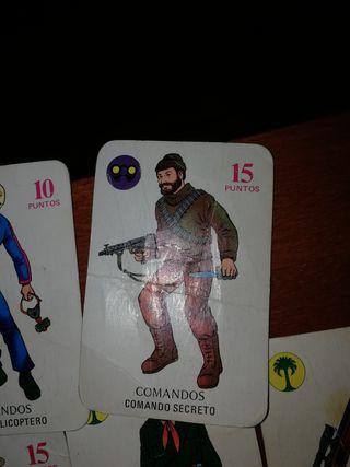 CARTAS EL JUEGO GEYPERMAN