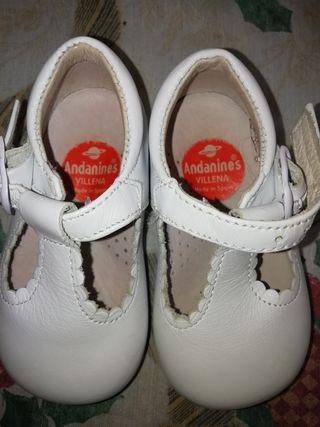 Zapatos bebe Andanines