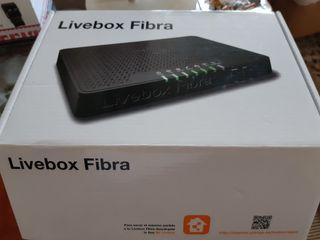 Moden livebox fibra