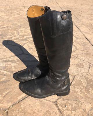 Botas equitación de piel
