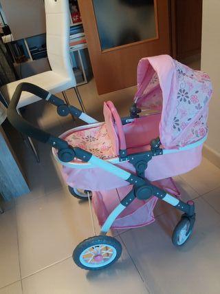 carrito bebè juguete calidad