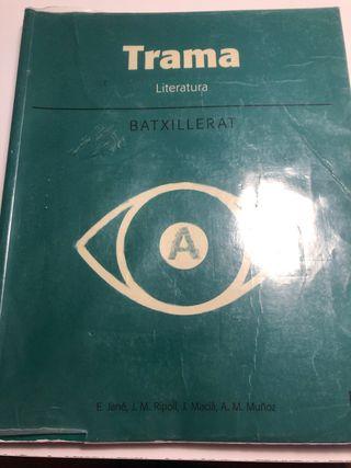 Libro Trama literatura lengua catalana bachillerat