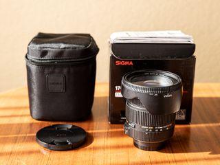 Objetivo Sigma 17-50 mm f2.8 EX DC OS