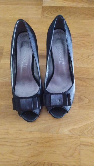 Zapatos de tacón con plataforma