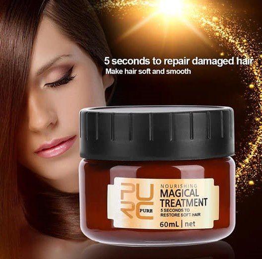 Mascarilla tratamiento mágica cabello dañado y sec