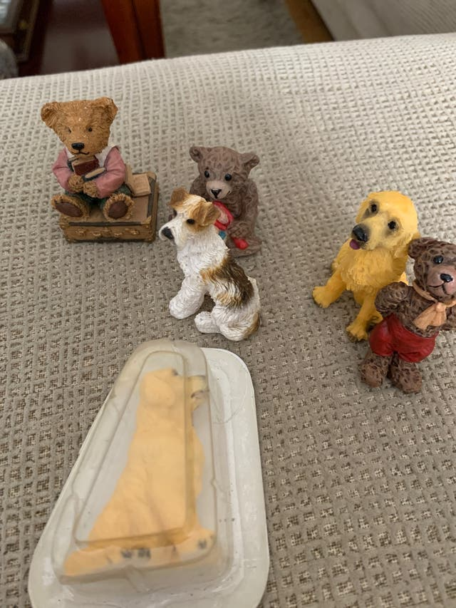 Perros y osos casa de muñecas