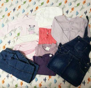 Lote ropa bebé niña talla 18 meses