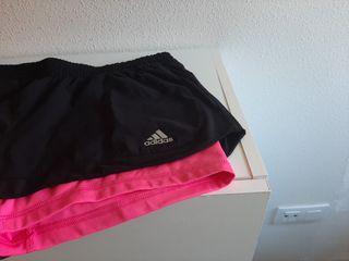 ropa de deporte:short, camiseta .
