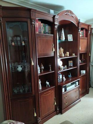 mueble salón y mesa tv